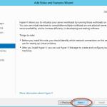 Ilustración 10 – Asistente para Instalación de Rol Hyper-V en Windows Server 2012.