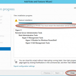 Ilustración 15 – Asistente para Instalación de Rol Hyper-V en Windows Server 2012.