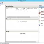 Ilustración 26 – Configuración de Virtual Switch en Hyper-V Manager.
