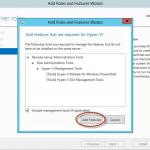 Ilustración 7 – Asistente para Instalación de Rol Hyper-V en Windows Server 2012.