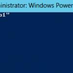 Ilustración 19 – Módulo de PowerShell para Hyper-V en Windows Server 2012. Encendido de Equipo Virtual.