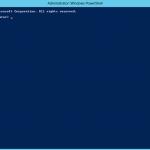 Ilustración 2 – Windows PowerShell para Administrar Hyper-V en Windows Server 2012.