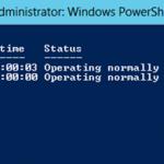 Ilustración 23 – Módulo de PowerShell para Hyper-V en Windows Server 2012. Listado de Equipos Virtuales.