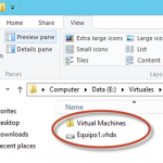 Ilustración 26 – Módulo de PowerShell para Hyper-V en Windows Server 2012. Eliminación de Equipo Virtual.
