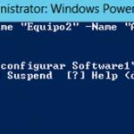 Ilustración 30 – Módulo de PowerShell para Hyper-V en Windows Server 2012. Restauración de Snapshots en Equipos Virtuales.