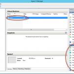 Ilustración 12 – Hyper-V Manager en Windows Server 2012. Creación de un equipo virtual.