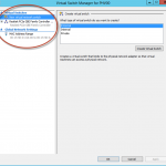 Ilustración 34 – Hyper-V Manager en Windows Server 2012. Opciones generales del Virtual Switch.