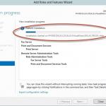 Ilustración 11 – Asistente para Agregar Roles o Características de Windows Server 2012: instalacio´n de rol mediante la funcionalidad offline servicing.
