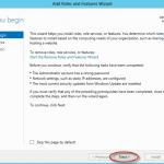 Ilustración 2 – Asistente para Agregar Roles o Características de Windows Server 2012.