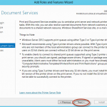 Ilustración 9 – Asistente para Agregar Roles o Características de Windows Server 2012: selección de roles y características disponibles para la instalación (offline servicing).