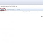 Ilustración 4 – Consola de Administración de Windows Intune: administración de administradores de servicio.