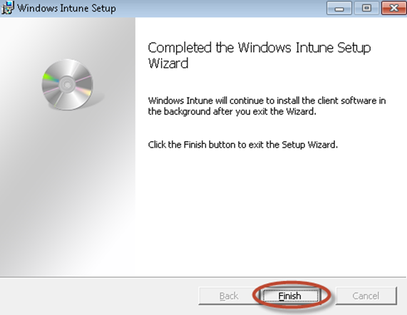 Ilustración 32 - Consola de Administración de Windows Intune. Agregado de Equipos. Instalación de Software por el Administrador.