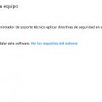 Ilustración 42 - Consola de Administración de Windows Intune. Portal de Windows Intune para la organización.
