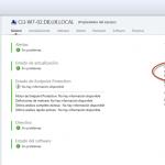 Ilustración 45 - Consola de Administración de Windows Intune. Portal de Windows Intune para la organización. Auto-vinculación de usuario al instalarse el software cliente.
