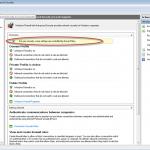 Ilustración 47 - Software cliente de Windows Intune: cambios generados en los equipos clientes. Cambios en Windows Firewall.