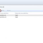 Ilustración 61 - Consola de Administración de Windows Intune. Configuración de alertas y notificaciones.