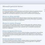 Ilustración 68 - Consola de Administración de Windows Intune. Informes.