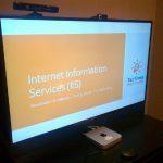 Capacitacion en IIS - 2013 02 - Inicio de la presentación