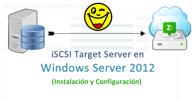 iSCSI Target Server en Windows Server 2012 - Instalación y Configuración