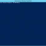 """Ilustración 1 – CMDLet """"Rename-Computer"""" en Windows PowerShell para renombrar un equipo basado en Windows Server 2012."""