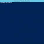 """Ilustración 4 – Ejecución del CMDLet """"Restart-Computer"""" de PowerShell para reiniciar el equipo."""