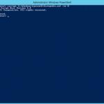 Ilustración 1 – Utilización de cscript para habilitar Escritorio Remoto en Windows Server.