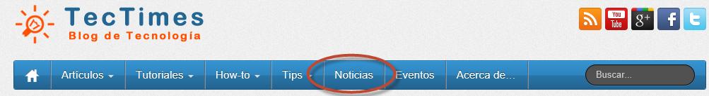 "Tectimes Sección ""Noticias"""