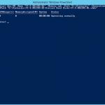 Ilustración 10- Creación de un equipo virtual generación 2 con PowerShell en Windows Server 2012 R2.