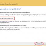 Ilustración 10 – Habilitación de BitLocker en Windows 8.1 Professional. Ejecución de la encriptación.