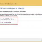 Ilustración 4 – Habilitación de BitLocker en Windows 8.1 Professional. Elección de método de desbloqueo de sistema.