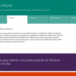 Ilustración 1 – Alta de suscripción Trial a través del Sitio Web de Windows Intune. Nótese que las imágenes pueden variar en su look & feel.
