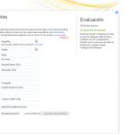 Ilustración 2 – Alta de suscripción Trial a través del Sitio Web de Windows Intune. Formulario de suscripción al servicio.