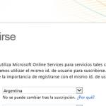 Ilustración 3 – Alta de suscripción Trial a través del Sitio Web de Windows Intune. Reutilización de una suscripción de Office 365 para interactuar con Windows Intune.