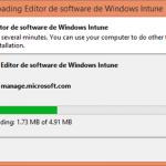 Ilustración 14 – Configuración de Dispositivos Windows Phone para administrarlos a través de Windows Intune. Publicación de aplicación firmada de ejemplo.