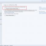 Ilustración 23 – Configuración de Dispositivos iOS para administrarlos a través de Windows Intune. Generación de Requerimiento de Certificado.