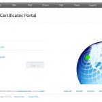 """Ilustración 26 – Configuración de Dispositivos iOS para administrarlos a través de Windows Intune. Generación de Certificado Digital en el Portal de """"Apple Push Certificate""""."""