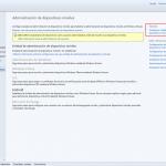 Ilustración 3 – Configuración de la Administración de Dispositivos Móviles en la Consola de Administración de Windows Intune: Configuración de Entidad de Administración.