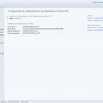 """Ilustración 33 – Configuración de Dispositivos iOS para administrarlos a través de Windows Intune. Subida del Certificado Digital generado en el Portal de """"Apple Push Certificate""""."""