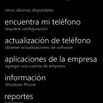 Ilustración 7 – Agregado de cuenta de Windows Intune para Administración Directa en un Windows Phone.