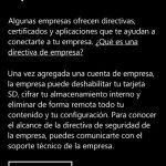Ilustración 8 – Agregado de cuenta de Windows Intune para Administración Directa en un Windows Phone.
