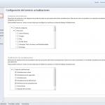 Ilustración 2 – Configuración de Servicio de Actualizaciones para equipos Windows Desktop en Windows Intune.