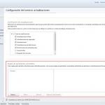 Ilustración 5 – Configuración de Servicio de Actualizaciones para equipos Windows Desktop en Windows Intune.