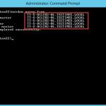 Ilustración 4 – Resultado de netdom query fsmo para Controladores de Dominio.