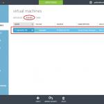 """Ilustración 6 – Visualización de la Plantilla creada desde """"Images"""" de Microsoft Azure."""