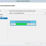 Ilustración 11 – Importación de Equipo Virtual en Hyper-V de Windows Server 2012.