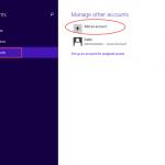 Ilustración 4 – Configuración de Acceso Asignado (Kiosk Mode) en Windows 8.1 | Creación del Usuario Local.