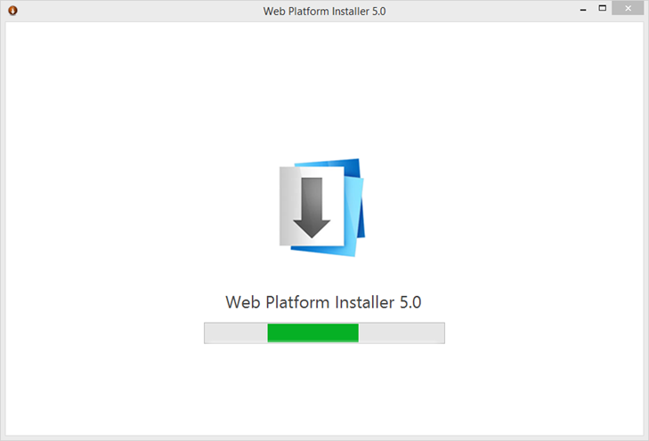 Ilustración 1 – Instalación de Microsoft Web Platform para Windows Azure PowerShell.