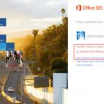 Ilustración 28 – Configuración de Autenticación Multifactor en Office 365 | Inicio de Sesión a través de la web.