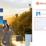 Ilustración 29 – Configuración de Autenticación Multifactor en Office 365 | Inicio de Sesión a través de la web.