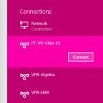 Ilustración 19 – Cliente VPN de Microsoft Azure para conexiones Point-To-Site: conexión desde Microsoft Windows.